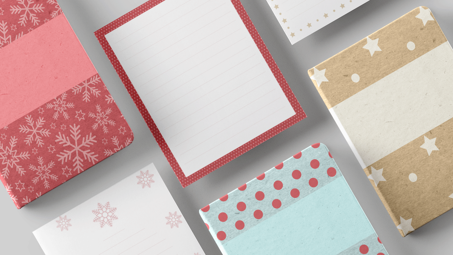 Holiday 2018 Papers and Covers in Noteshelf 2